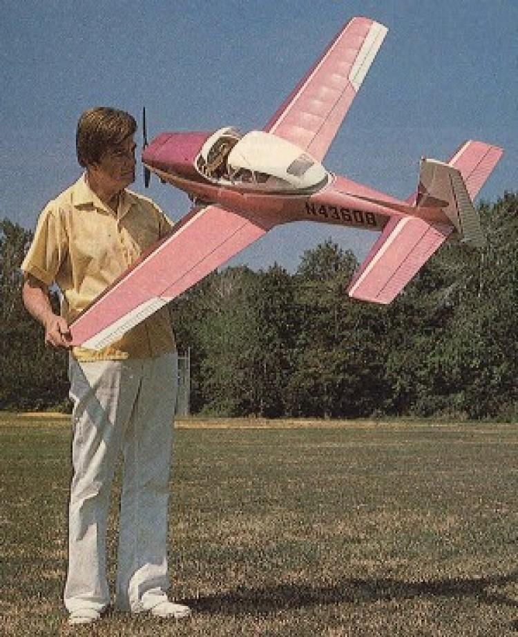 Classic Ryan Navion model airplane plan