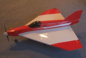 Climax Delta model airplane plan