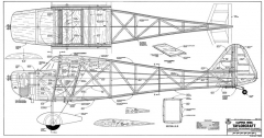 Clipped Wing Taylorcraft model airplane plan