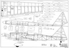 Cloud Dancer model airplane plan