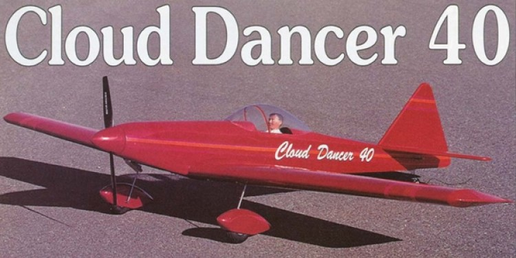 Cloud Dancer 40 model airplane plan