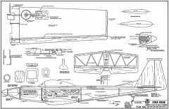Cold Duck model airplane plan