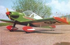 Colibri MB2 model airplane plan