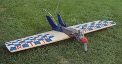 Combat Gremlin model airplane plan