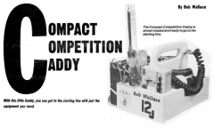 Compact Competition Caddy model airplane plan