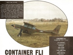 Container Fli model airplane plan