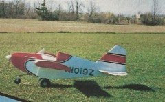 Contester model airplane plan