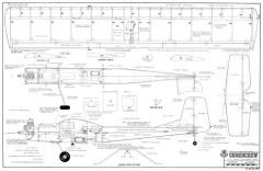 Corkscrew model airplane plan