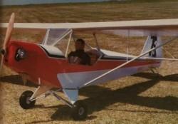 Cracker Jack model airplane plan