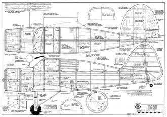 Culver Dart RCM-10-77 model airplane plan