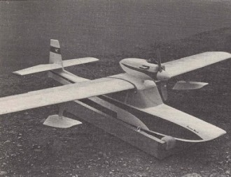Curlew Mark II model airplane plan
