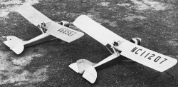 Curtiss-Wright Jr model airplane plan