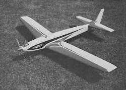 Cygnus model airplane plan