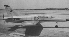 Czechoslovakian L-39 Albatros model airplane plan