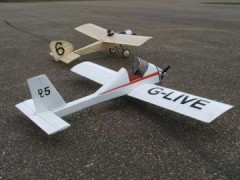 D.L.5 Homebuilt model airplane plan