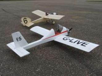 D.L.5 Homebuilt model airplane plan
