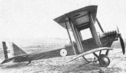 DH-6 model airplane plan