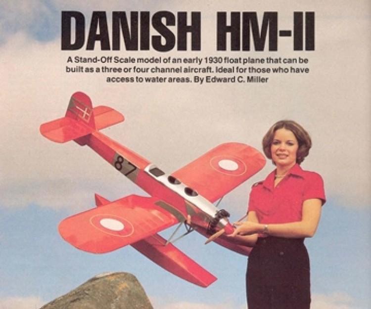 Danish HM-II model airplane plan