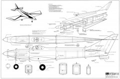 Dart III model airplane plan