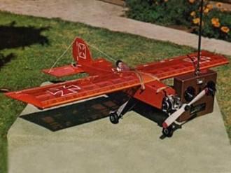 Das Mini Stik model airplane plan