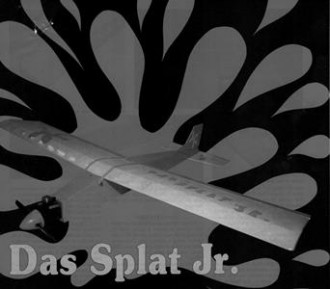 Das Splat Jr model airplane plan