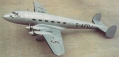 De Havilland D.H. 91 Albatross model airplane plan
