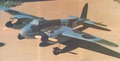 De Havilland Mk IV Mosquito model airplane plan
