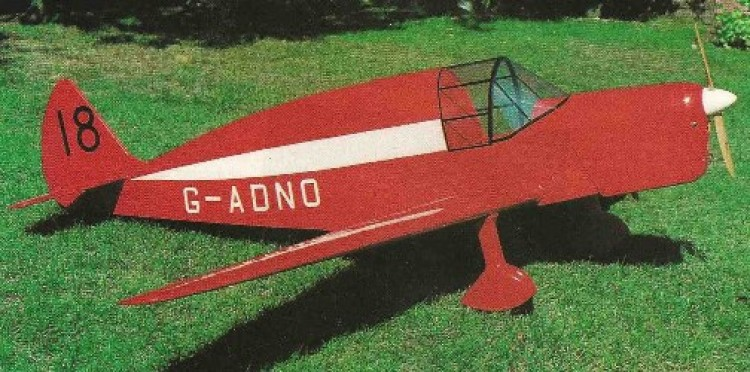 Dehavilland T.K.2 model airplane plan
