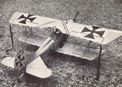 Der Jager D.IX model airplane plan