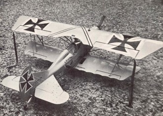 Der Jager D.IX model airplane plan