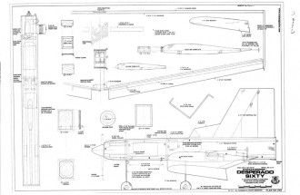 Desperado 60 model airplane plan