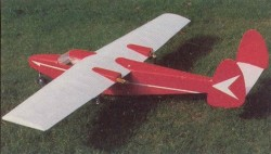 Dinfia I.A. 45B Querandi model airplane plan