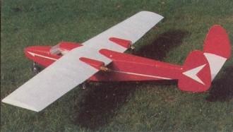 Dinfia I.A. 45B Querandi model airplane plan