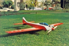 Dirty Birdy model airplane plan