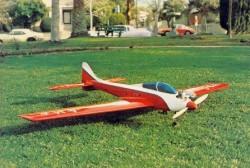 Dirty Birdy model airplane plan