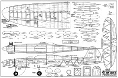 Don Juan II model airplane plan