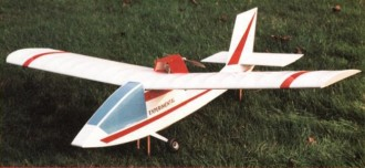 Don Quixote model airplane plan