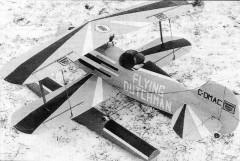 Double Dutch model airplane plan