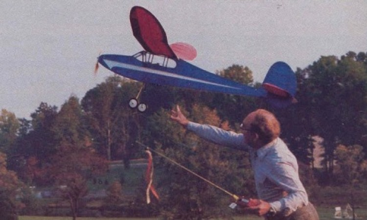 Double Jabberwock model airplane plan