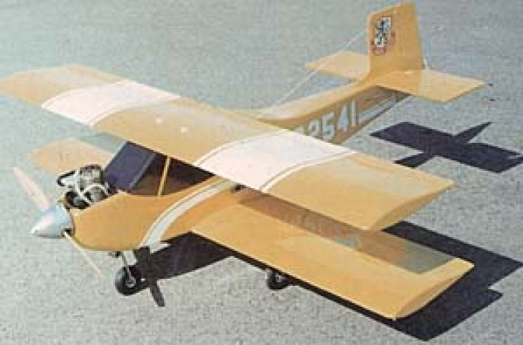 Double Trouble model airplane plan