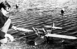 Douglas Dolphin model airplane plan