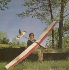 Durex V model airplane plan