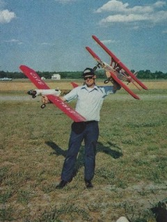 Early Bird Bipe model airplane plan