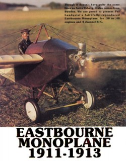 Eastbourne Monoplane 1911-1913 model airplane plan