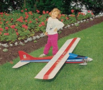 Easy 100 model airplane plan