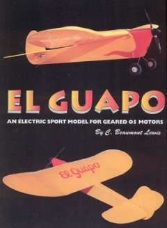 El Guapo model airplane plan
