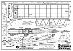 Electraglide 62 model airplane plan
