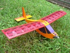 Electric Buttercup model airplane plan