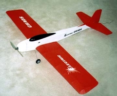 Electric Chaos model airplane plan