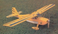 Electric Decathlon model airplane plan